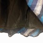 długa spódnica granatowa w paski 46