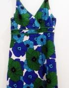 sukienka letnia w kwiaty F&F 44