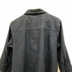 granatowa koszula narzutka 48