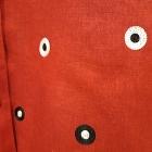 czerwona narzutka 40