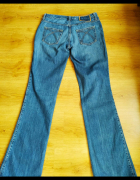 Spodnie jeans przecierane 40 L...