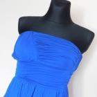 Asos niebieska sukienka mini 34 36