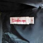 Kaleidoscope sukienka czarna złota sexy 40