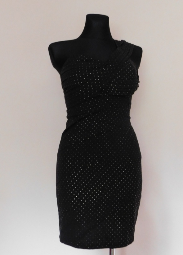 Miss Harvey sukienka czarna mini sexy 38...