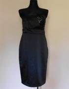 George czarna sukienka midi 42...