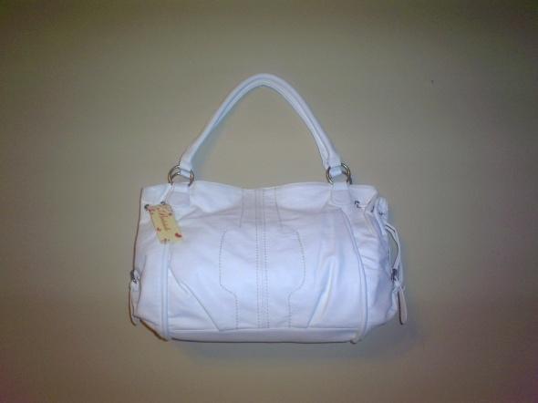 Nowa biała torebka