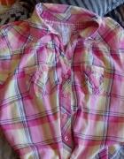 Pastelowa koszula xs