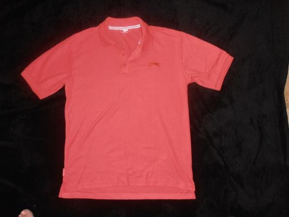 wygodna MODNA koszulka POLO czerwona