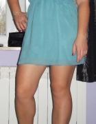 Sukienka tunika mgiełka Atmosphere miętowa 38...
