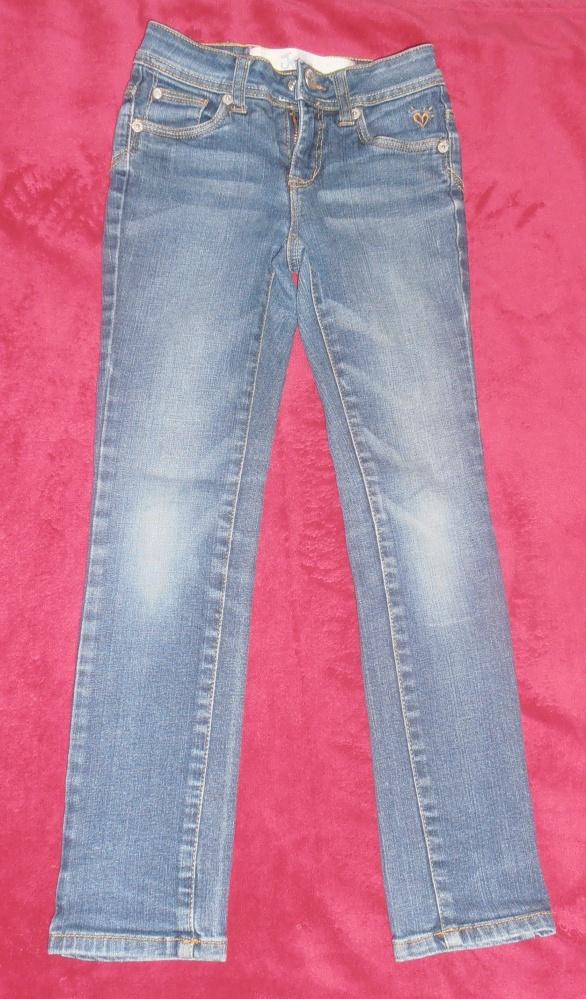 Jeansy dziewczęceJustice rozm128 7 l