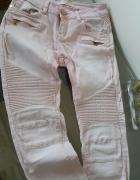 Modne spodnie Denim