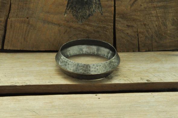 metalowa bransoletka stare srebro...