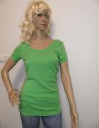 Zielona bawełniana bluzka marki Only...