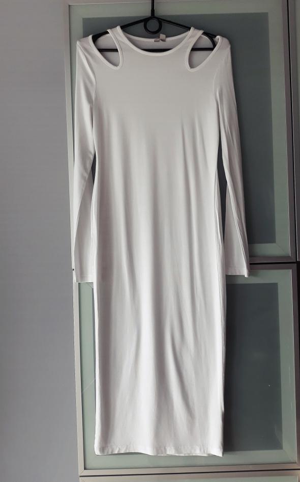 Nowa biała sukienka maxi Asos rozmiar M...