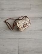 Mała torebka mini H&M wężowa skóra regulowany pasek...