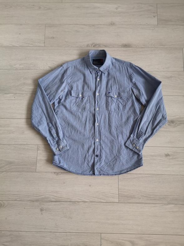 Koszula męska Diverse L niebieska...