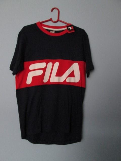 Granatowa koszulka męska Fila tshirt Fila