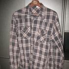 Koszula na kapsle z długim rękawem