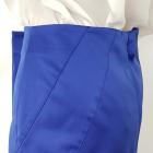 Niebieska chabrowa spódnica marki H&M