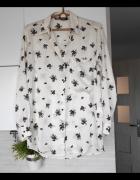 Zara satynowa koszula floral kwiaty...