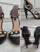 Sandały lakierowane szpilka...