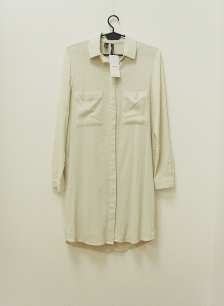 NOWA metka Mango sukienka safari 100wiskoza koszulowa beżowa 34 XS