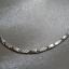 srebrna bransoletka sztywne elementy