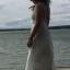 sukienka maxi wiązana na pleach asos długa