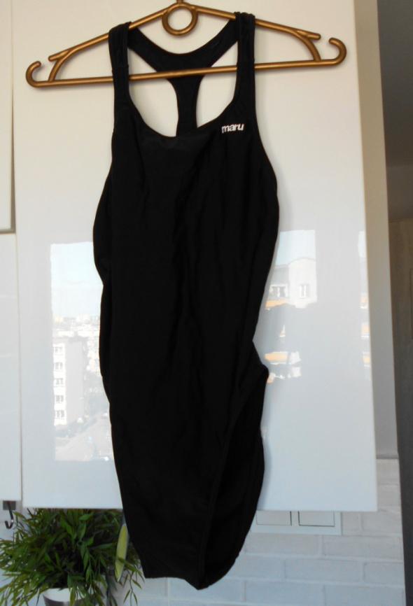 Maru kostium kąpielowy czarny jednoczęściowy sportowy...
