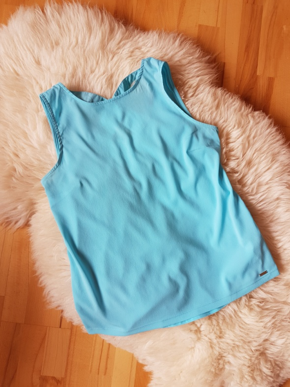 Niebieska bluzka Mohito M...