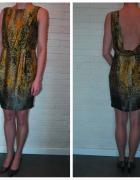 Sukienka panterka rozmiar XS
