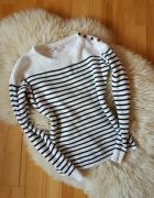 Sweter w paski HM 38 40...