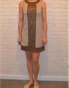 sukienka zamszowa Promod S