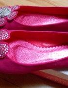 różowe balerinki 37