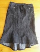Dżinsowa spódnica...