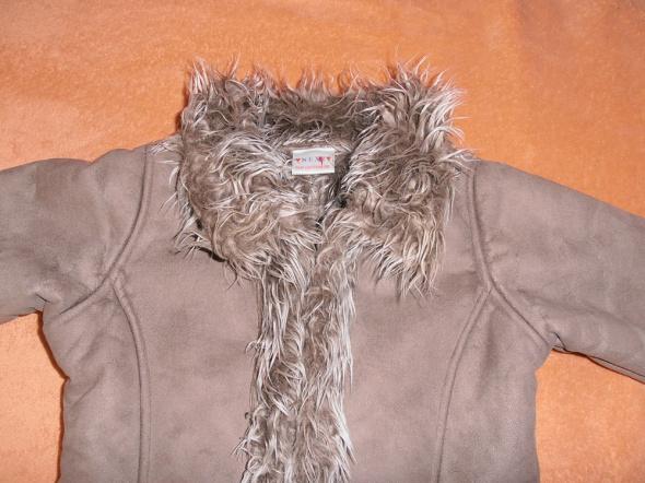 Nowe ciepłe futerko zimowe NEXT rozmiar 122 cm