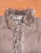 Nowe ciepłe futerko zimowe NEXT rozmiar 122 cm...