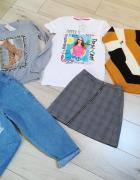 Nowa paczka ubrań dla dziewczynki rozm 158