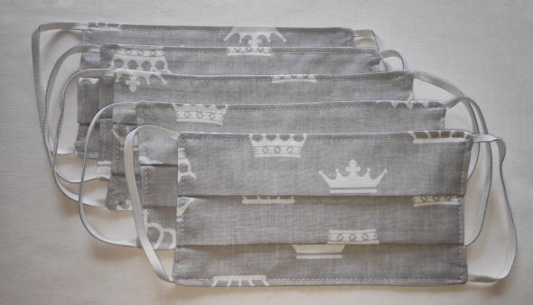 Maseczki bawełniane z kieszonką na filtr różne wzory...