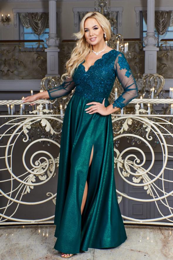 Suknie i sukienki Carmen piękna długa sukienka 36 38 40 42 44 46 48 50 52 KOLORY