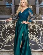 Carmen piękna długa sukienka 36 38 40 42 44 46 48 50 52 KOLORY...