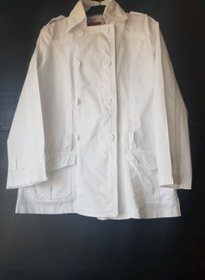 Odzież wierzchnia Biała letnia kurteczka