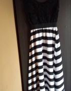 sukienka długa z haftem...