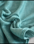 Piękna morska chusta szal długość ok 200 cm