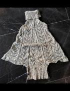 Not the Same sweter oversize nietoperz golf rozmiar uniwersalny...