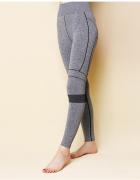 Nowe szare legginsy L 40 szary melanż sportowe siłownia gym str...