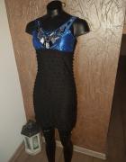 sukienka falbanki...