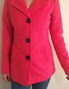Różowy płaszcz 36 Tally Weijl...