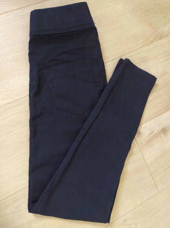 Spodnie Spornie rurki jeans czarne jegging primark NOWE wyprzedaż