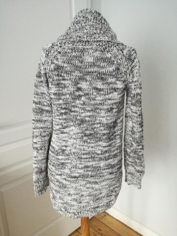 Sliczny sweter szary melanz rozmiar 36...